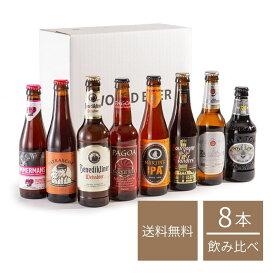 【10%OFF・送料無料】 世界を旅するビール・ ヨーロッパ4ヶ国8本セット (330ml x 8本入 ) クラフトビール 海外ビール 飲み比べ 詰め合わせ セット クリスマス ヨーロッパ