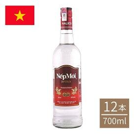 ベトナム スピリッツ・ネプモイ700ml瓶 12本入 スピリッツ ケース nepmoi