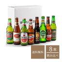 【 送料無料 】世界を旅するビール8ヶ国セット( 330ml x 8本入 )アジア ヨーロッパ クラフトビール 海外ビール 飲み比べ 詰め合わせ セット 送料無料 ビール