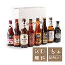【 送料無料 】世界を旅するビール・ ヨーロッパ4ヶ国8本セット (330ml x 8本入 ) クラフトビール 海外ビール 飲み比べ 詰め合わせ セット ヨーロッパ ビール