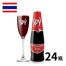 タイ ワインカクテル スパイ・レッド瓶 275ml 24本入 カクテル spy RTD 炭酸 正規輸入品