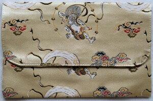 京都伏見の御朱印帳 特上金襴 Lサイズ 御朱印帳袋 ハンドメイド ふくさ型御朱印帳袋 かわいい 和柄