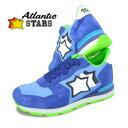 アトランティックスターズ/Atlantic STARS メンズ スニーカー ANTARES AA 87C (ブルー系) シューズ/靴/SL【19AW】