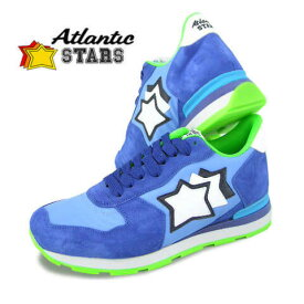 【2019定番モデル】 アトランティックスターズ/Atlantic STARS メンズ スニーカー ANTARES AA 87C (ブルー系) シューズ/靴/SL品