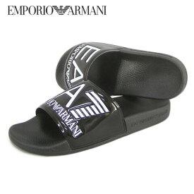 エンポリオアルマーニ エアセッテ/EMPORIO ARMANI EA7 メンズ スライドサンダル XCP001 XCC22 (ブラック/K001) シューズ/靴/大きいサイズ-s/SL品
