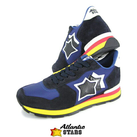 【定番モデル】 アトランティックスターズ/Atlantic STARS メンズ スニーカー ANTARES AAB 89B (ブルー×ネイビー) シューズ/靴 セール品