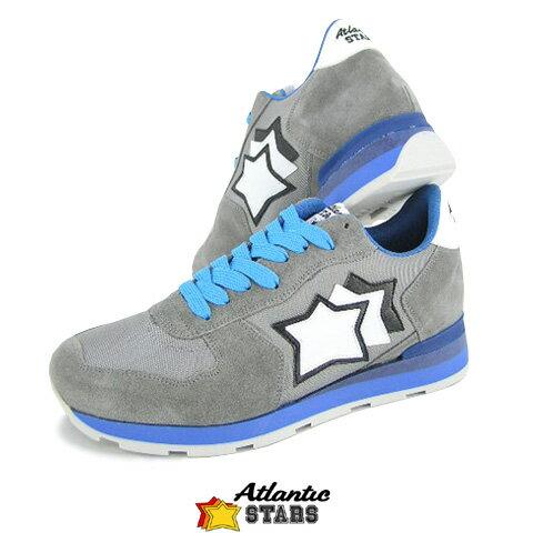 【2018春夏新作】 アトランティックスターズ/Atlantic STARS メンズ スニーカー ANTARES CSC 83A (グレー) シューズ/靴
