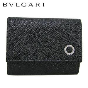 ブルガリ/BVLGARI メンズ コイン&カードケース ブルガリ・ブルガリ マン 288293 (BLACK/ブラック) ブルガリ・ブルガリ/ウォレット/サイフ/財布/小銭入れ/コインホルダー/カード入れ/カードホルダ