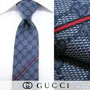 グッチ/GUCCI メンズ ネクタイ 6767 (ブルー/GGパターン) ジャガード織り/結婚式/プレゼント/誕生日/就職/パーティー/バレンタイン/父の日/ク...