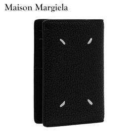 【2021春夏新作】 メゾンマルジェラ/Maison Margiela メンズ カードケース S55UI0203 P2686 (ブラック/H1669) カードホルダー/カード入れ/小物/プレゼント/誕生日/クリスマス/レディース/男女兼用/ユニセックス