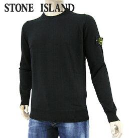 【2020-21秋冬新作】 ストーンアイランド/STONE ISLAND メンズ ニット 7315526C4 (ブラック/V0029) クルーネック/長袖/大きいサイズ-t