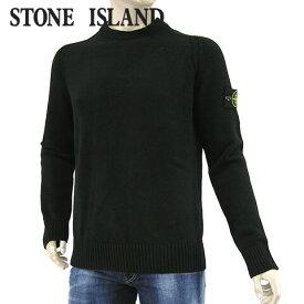 【2020-21秋冬新作】 ストーンアイランド/STONE ISLAND メンズ ニット 7315552A3 (ブラック/V0029) クルーネック/長袖/大きいサイズ-t