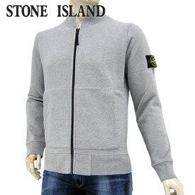 【2020-21秋冬新作】 ストーンアイランド/STONE ISLAND メンズ トラックジャケット 731560220 (ライトグレー/V0M64) シングルジップ/裏起毛