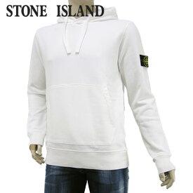【2020-21秋冬新作】 ストーンアイランド/STONE ISLAND メンズ パーカー 731564120 (ホワイト/V0001) プルオーバー/裏起毛/長袖/大きいサイズ-t