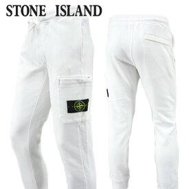 【2020-21秋冬新作】 ストーンアイランド/STONE ISLAND メンズ スウェットパンツ 731564520 (ホワイト/V0001) スウェット/裏起毛/大きいサイズ-b