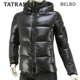 【2019-20秋冬新作】 タトラス/TATRAS メンズ ダウンジャケット MTA20A4562 BELBO (BLACK/ブラック/19) ベルボ/ダウン/アウター/キルティング/フード/大きいサイズ-t