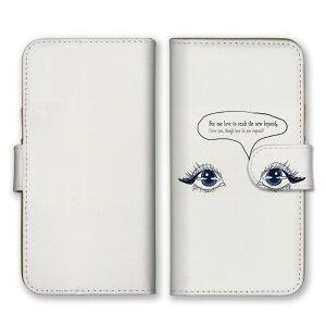 \全機種対応/ スマホケース 手帳型 スマホカバー 手帳タイプ スマートフォン ケース カバー アート ポップ 目 英語 かわいい おしゃれ 人気 かっこいい カードホルダー付き カード収納 合