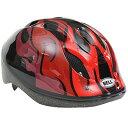 ベル ズーム2 ヘルメット ブラックレッドフレイムス