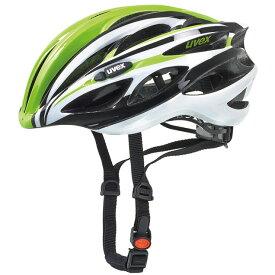 ウベックス RACE1 グリーン/ホワイト ヘルメット