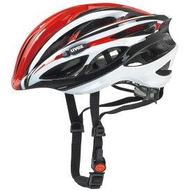 ウベックス RACE1 レッド/ホワイト ヘルメット