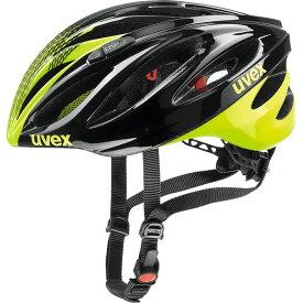 ウベックス BOSS RACE ブラック/ネオンイエロー ヘルメット