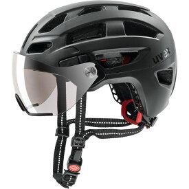 ウベックス FINALE VISOR ブラックマット ヘルメット