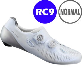 シマノ RC9(SH-RC901) ホワイト ノーマルタイプ SPD-SL シューズ BOA