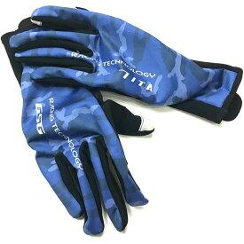 セブンイタリア Neo Camo Winter Gloves ブルーカモ