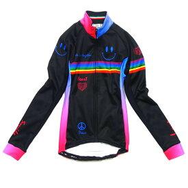セブンイタリア Neo Rainbow Smile Lady Jacket ブラック