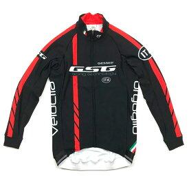 GSG GZ-R LS Jersey ブラック/レッド