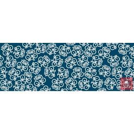 ラベル 日本製手ぬぐい LOVELL ブルー