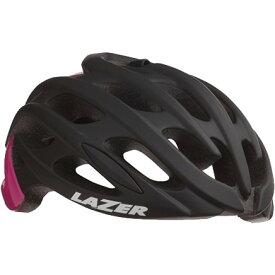 シマノレイザー ブレイド+ AF アジアンフィット マットブラック/ピンク ヘルメット BLADE ブレード LAZER レーザー プラス