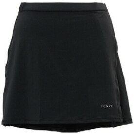 テリー ミキシースカート ブラック レディース