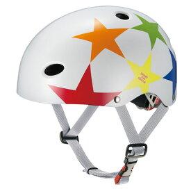 【あす楽】OGKカブト FR-キッズ スターホワイト ヘルメット