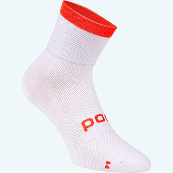 【M便】POC Essential Sock (エッセンシャル ソックス) ホワイト