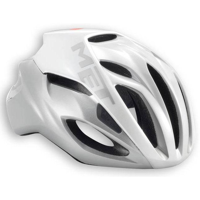 メット リヴァーレ HES ホワイト×シルバー ヘルメット