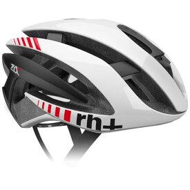 zerorh+ EHX6072 Z Alpha シャイニーホワイト/ シャイニーホワイト/ マットブラック ヘルメット