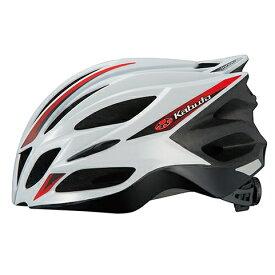 OGKカブト トランフィ ホワイトレッド ヘルメット