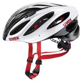 ウベックス BOSS RACE ホワイト/ブラック ヘルメット