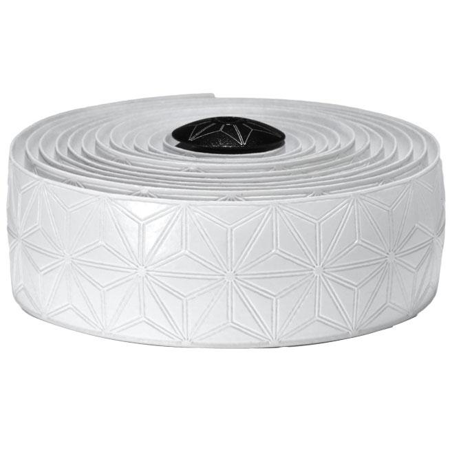 スパカズ ホワイト スーパースティッキークッシュテープ シングルカラー バーテープ