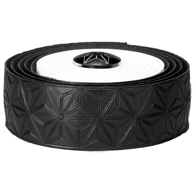 スパカズ ホワイト&ブラック スーパースティッキークッシュテープ マルチカラー バーテープ