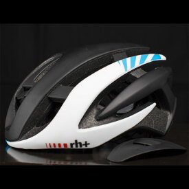 zerorh+ EHX6072 Z ALPHA 03マットブラック/マットホワイト/ライトブルー ヘルメット