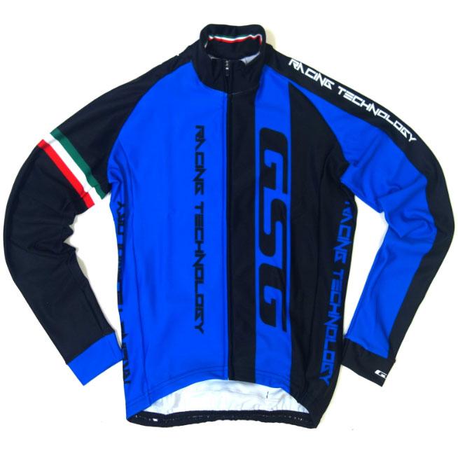 【現品特価】GSG Mezzaluna LS Jersey Blue/Black