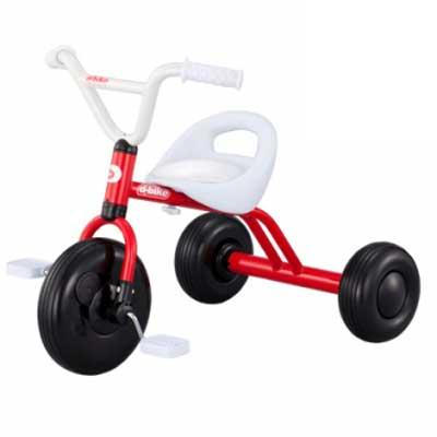アイデス D-Bike TRY! レッド 三輪車