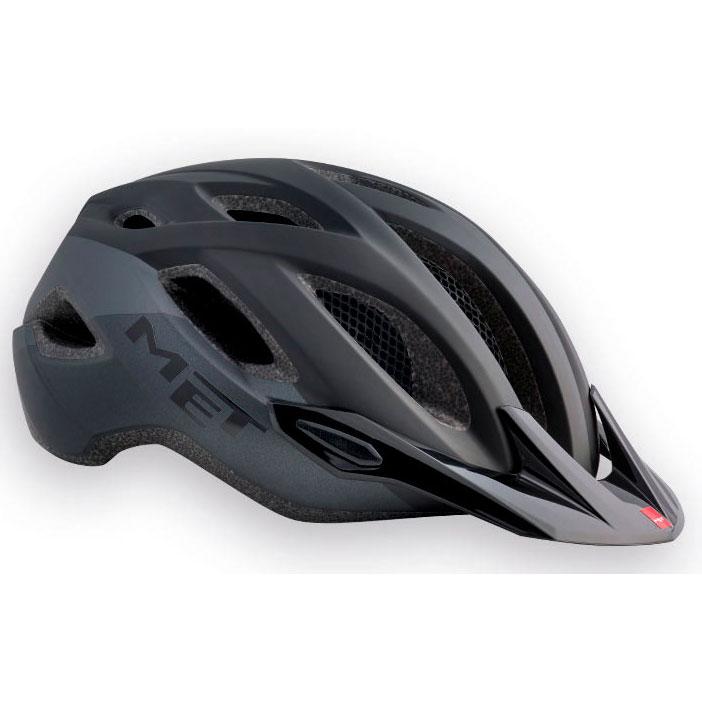 メット クロスオーバーXL マットブラック ヘルメット