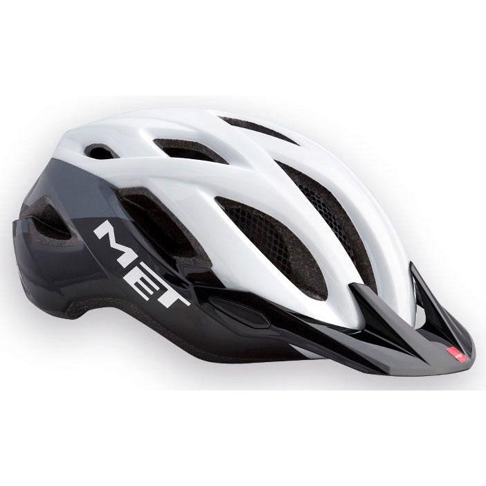 メット クロスオーバーXL ホワイト×ブラック ヘルメット