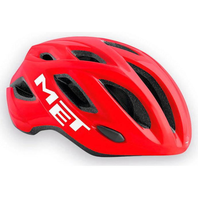 メット イドロ レッド×ホワイト ヘルメット