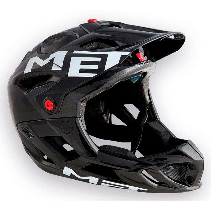 メット パラシュートHES アンスラサイト×ブラック ヘルメット