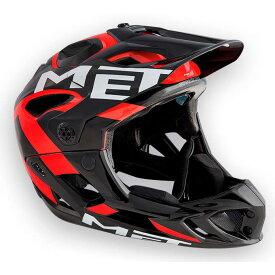 メット パラシュートHES ブラック×レッド ヘルメット