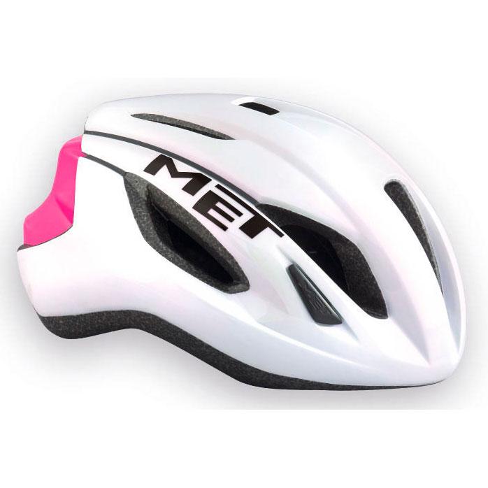 メット ストラーレ ホワイト×ピンク ヘルメット
